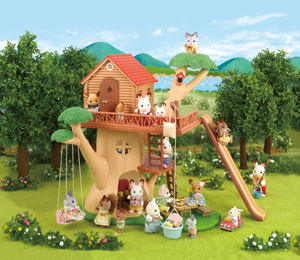 Adventure Tree House Calico Critters