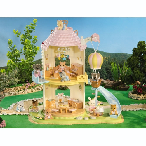 Calico Critters Baby Playhouse Windmill (Back)