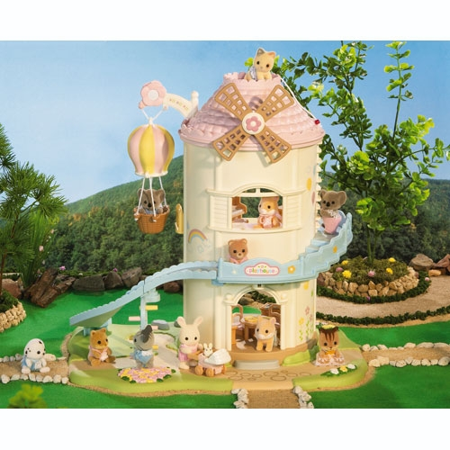 Calico Critters Baby Playhouse Windmill (Front)