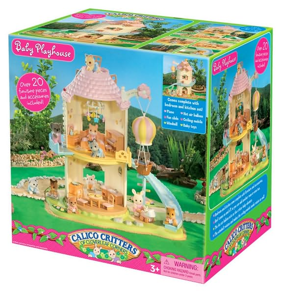 Calico Critters Baby Playhouse Windmill Box