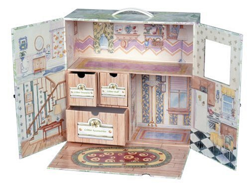 Calico Critters Carry Case Inside