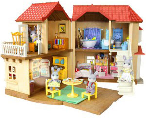 Calico Critters House With Furniture. Small Footprint