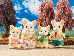 Chihuahua Dog Family Calico Critters