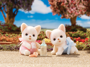 Chihuahua Dog Twins Calico Critters
