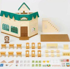 Sylvanian Berry Grove School Accessories