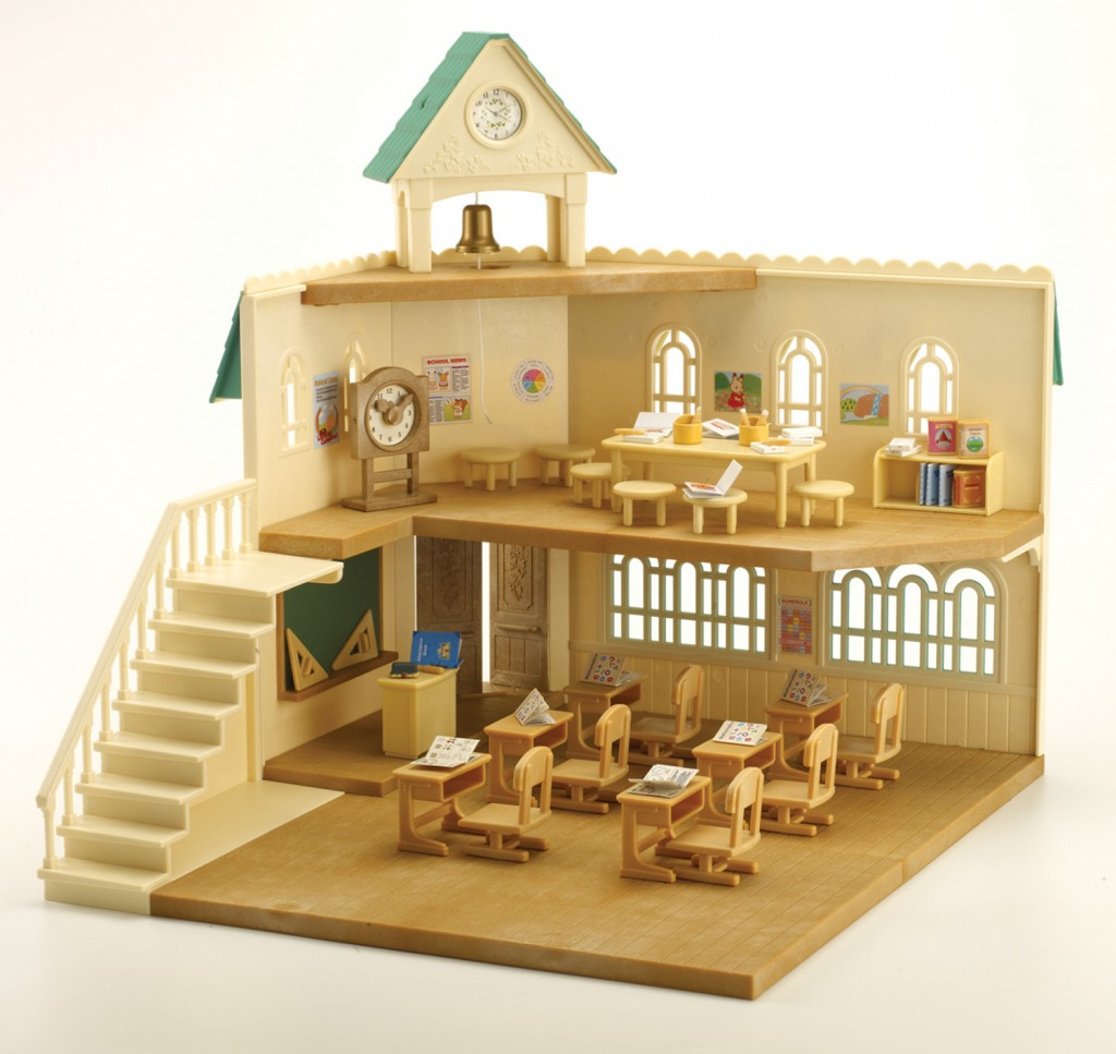 Sylvanian berry grove school calico critters calico for Buy house online