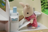 Calico Critters Caravan Bathroom